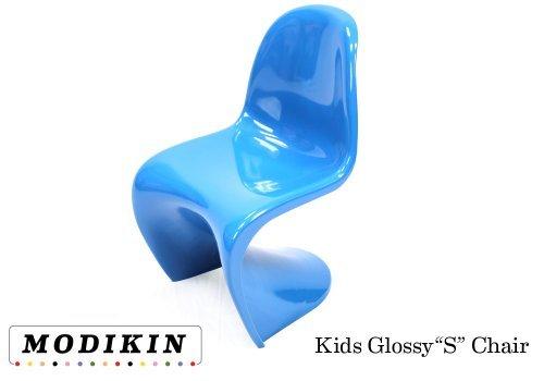 Amazon Com Modikin Panton Style Kids S Chair Blue