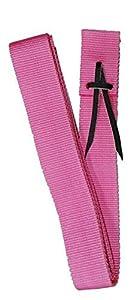"Showman PONY Premium Webbed PINK Nylon Saddle Cinch Tie Strap 63"" Long"
