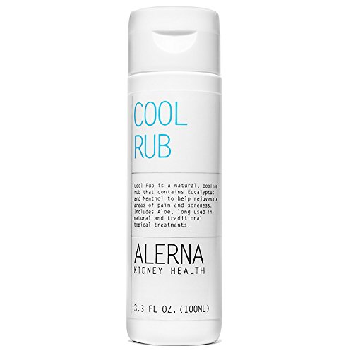 (Cool Rub – Natural Cooling Rub w/Eucalyptus Extract and Aloe - (100ML))