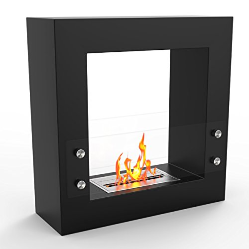 Regal Flame Dora Ventless Free Standing Bio Ethanol Fireplace Can Be