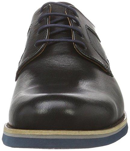 Lloyd Florida, Zapatos de Cordones Derby para Hombre Negro - Schwarz (SCHWARZ 0)