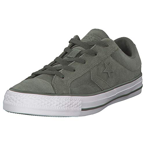 (Converse Unisex Chuck Taylor All Star Sneaker (Mens 6.5/Womens 8.5, Star Player Olive 9547))