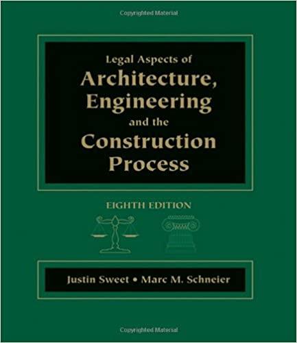 Legal Aspects of Architecture, Engineering & the