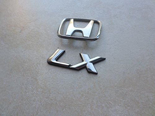 honda civic lx trunk emblem - 3