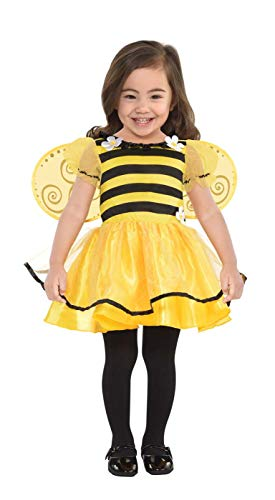 amscan Baby Little Stinger Bee Costume - 6-12 Months, Yellow/Black -