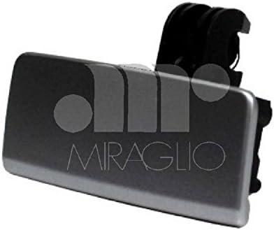 Nero Blocco vano portaoggetti per auto maniglia coperchio coperchio serratura portaoggetti in plastica ABS senza sostituzione fori