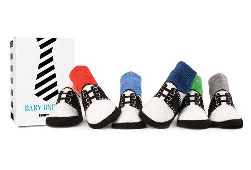 Trumpette Baby-boys Newborn Baby Oxford 6 Pair Sock Set, Assorted, 0-12 Months (Boys Trumpette Socks)