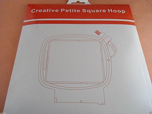 Petite Square Hoop 3x3'' 80x80mm PFAFF Creative 2.0/4.0 Vision Performance Husqvarna Viking 920334096/821006096/PA006 by Sew Tech