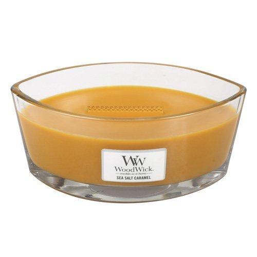 woodwick candle sea salt caramel - 8