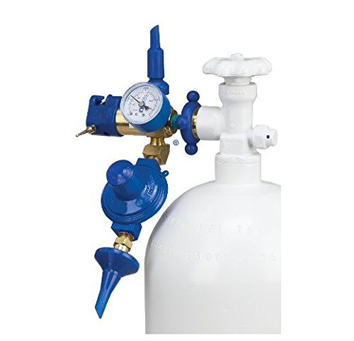 Precision Plus Dual Regulator Inflator with Flex-Tilt Valve For Latex & Microfoil ()
