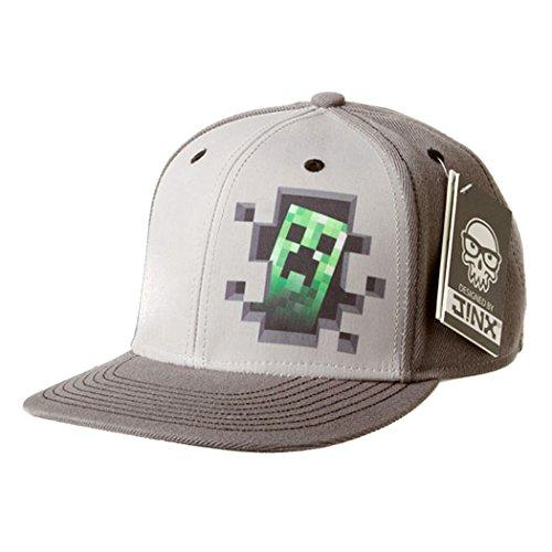 Minecraft Creeper Inside Snapback Cap (Minecraft Creeper Cap compare prices)