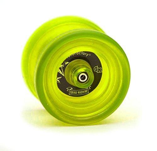 YoYo Factory Grind Machine - EdgeGlow Yellow by YoYoFactory