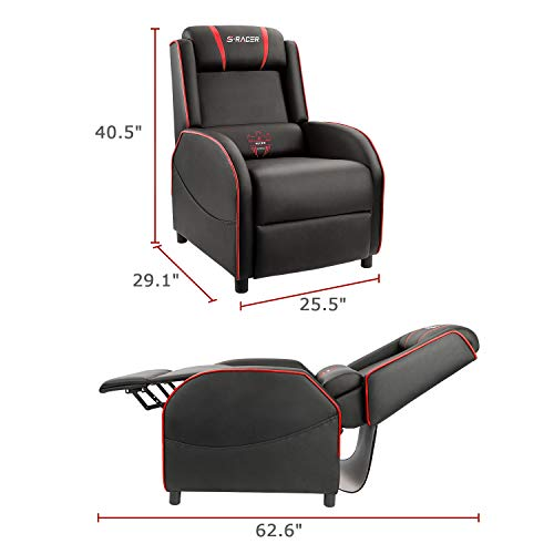 Homall Gaming Recliner Chair Single Living Room Sofa