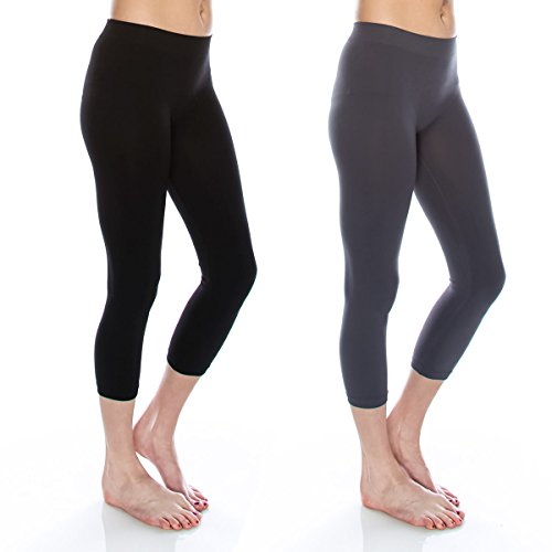Kurve Premium Seamless Leggings, UV Protective Fabric UPF 50+ (Made with Love in The USA) by Kurve (Image #4)