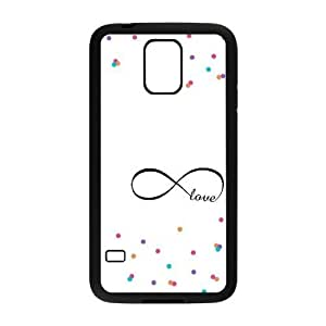 infinity love DIY Cover Case for SamSung Galaxy S5 I9600 LMc-01763 at LaiMc