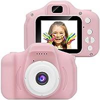 Kinderkamera, Kinder-Digitalkamera 1080P HD-Video-Digitalkamera mit 2-Zoll-LCD-Bildschirm 32G-Speicherkarte F1
