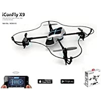Emperor of Gadgets ® iConFly X9 Smartphone Controlled RC Quadcopter Drone