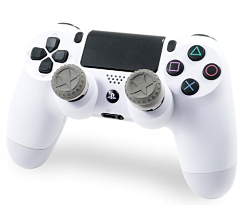 KontrolFreek FPS Freek Call of Duty WWII Heritage Edition for PlayStation 4 (PS4) Controller | Performance Thumbsticks | 1 Mid-Rise, 1 High-Rise Concave | Green 2