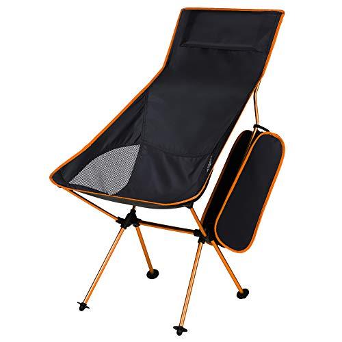 Amazon.com: KABOER Silla de camping plegable para exteriores ...