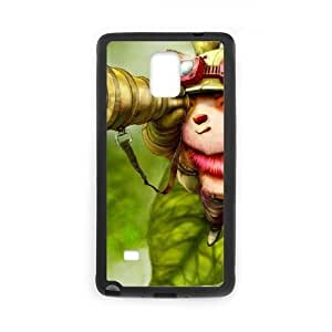 samsung galaxy note4 phone case Black Teemo league of legends EER7566140