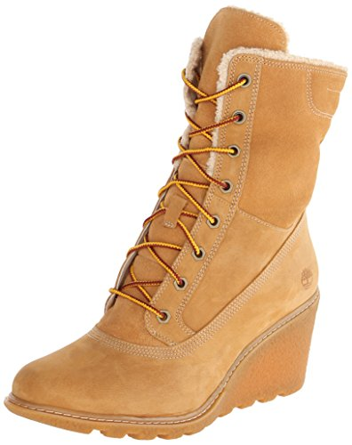 Timberland Women's Earthkeepers  Amston Roll-Top Wheat 7 B - Medium by Timberland (Image #7)