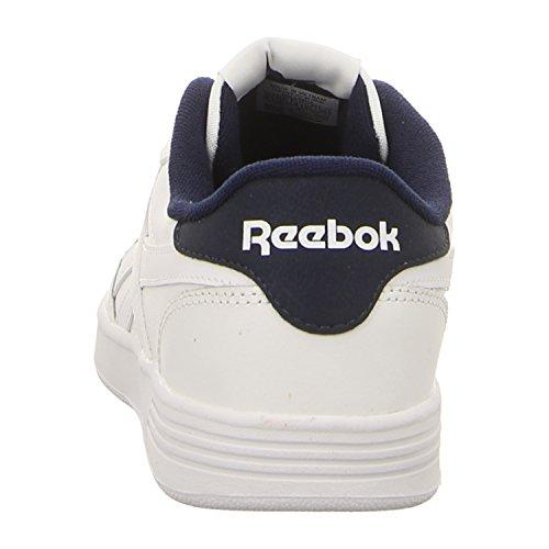 Reebok Royal Techque T, Zapatillas de Tenis Para Hombre, Blanco (CP/White/White/Collegiate Navy 000), 45 EU