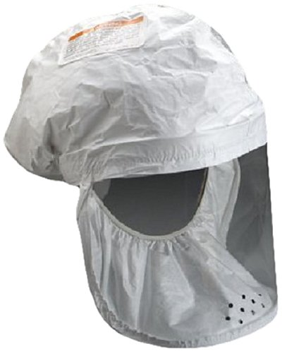 3M White Respirator Head Cover, Respiratory Protection BE-12-3, Regular (Case of 3)