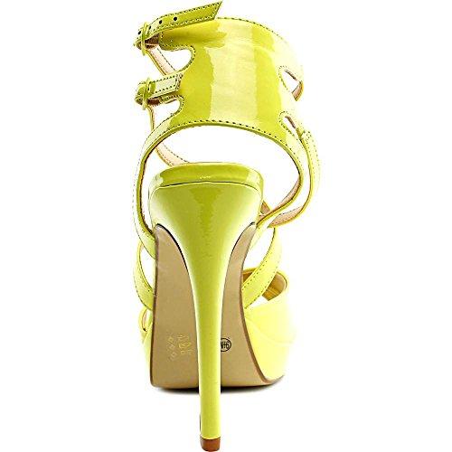 Chinese Laundry Sandalias de mujer de relieve suave Pa vestido Lemon