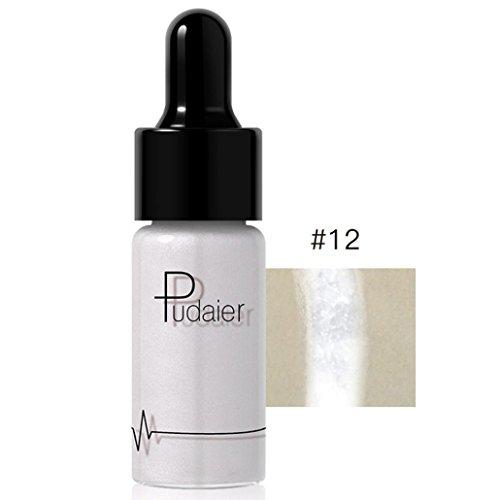 Abs Ivory Dress - Dingji 12 Colors Highlighter Makeup Concealer Shimmer Face Glow Lip Face Liquid (L)