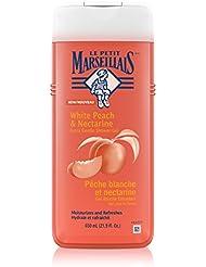 Le Petit Marseillais Extra Gentle Shower Gel White Peach & Nectarine, 21.9 Ounce (Pack of 3)