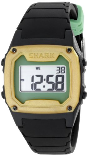 Freestyle Men's Shark Classic 103323 Black Silicone Quartz W