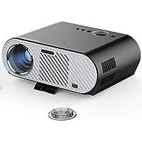 Simplebeam Video Proyector GP90 Portable 3300 Lumens, Proyector HD LED Multimedia Cine en casa Entretenimiento Película Fiesta Proyector de Juegos HDMI VGA para computadora portátil