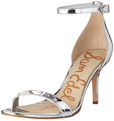 Sam Edelman Damen Patti Pumps Argento Tenero