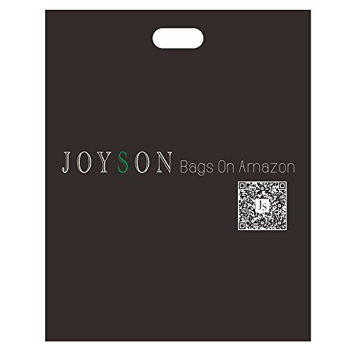 JOYSON Backpack Travel School Daypack PU Leather Laptop 16'' Bags Black