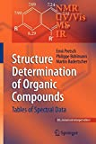 img - for Structure Determination of Organic Compounds: Tables of Spectral Data book / textbook / text book