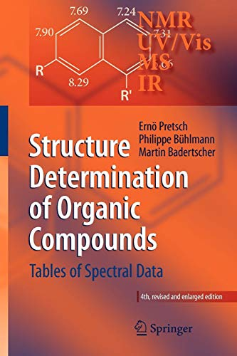 (Structure Determination of Organic Compounds: Tables of Spectral Data)