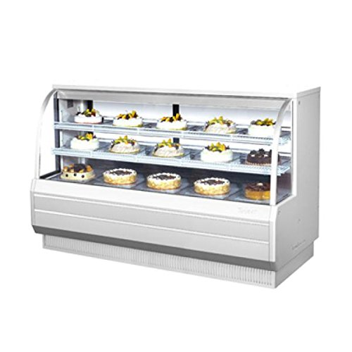 (Turbo Air TCGB-72-CO Curved Glass Bakery Display Case)