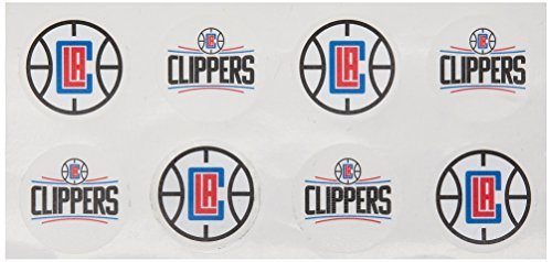 [NBA Los Angeles Clippers Face Tattoos, 8-piece Set] (Rico Los Angeles Clippers)