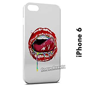 Carcasa Funda iPhone 6 Kiss Color Protectora Case Cover