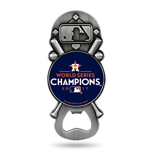 Rico Industries Houston Astros 2017 World Series Champions Magnetic Bottle Opener Party Starter