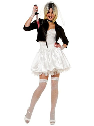 Bride of Chucky Adult Costume - (The Bride Of Chucky Halloween Costumes)