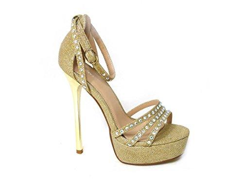 Sandales 013 10 pour Gold femme SKO'S PnwSfqS
