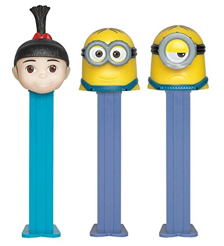 Pez BB79121 Despicable Me Pez Dispenser and Candy Set ()