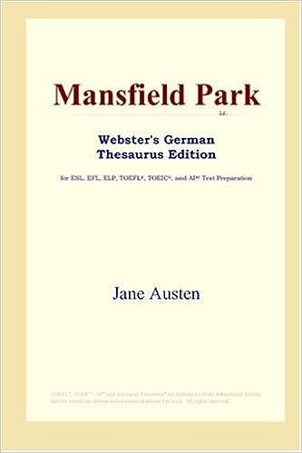 Mansfield Park (Websters German Thesaurus Edition)