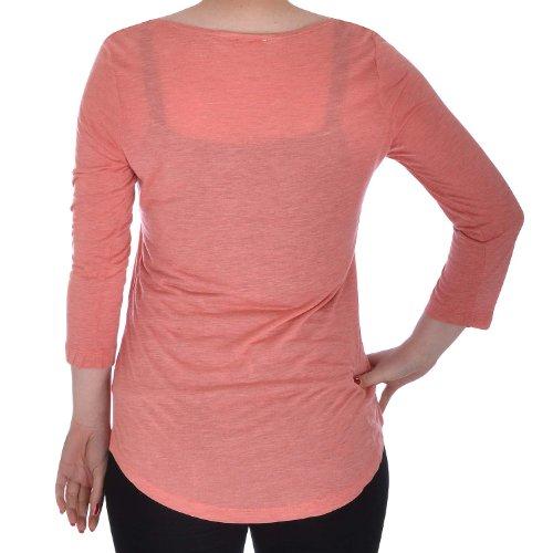Next - T-shirt - Manches 3/4 - Femme -  Vert - Vert olive - 6