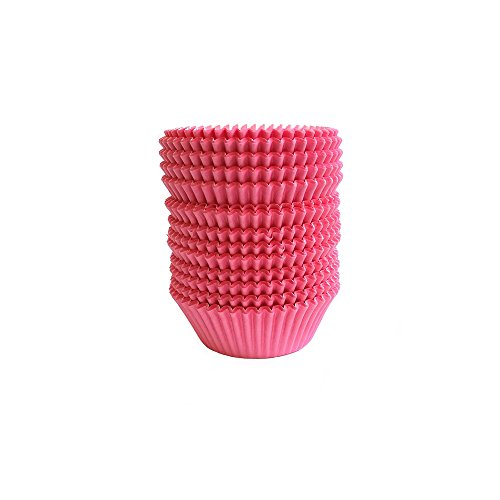Warm party Baking Cups Cupcake Liners, Standard Sized, 300 Count (Pink),