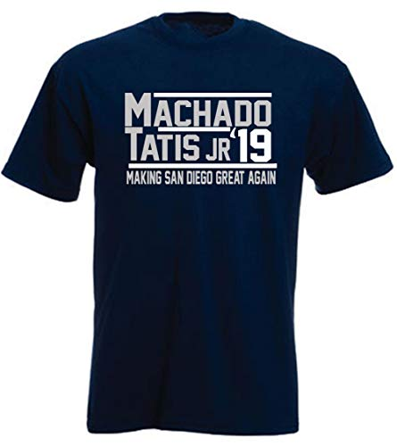 Navy San Diego Machado Tatis Jr 2019 T-Shirt Adult