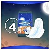 Always Ultra Thin, Size 4, Overnight Pads With