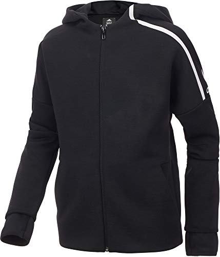 adidas Boy's ZNE Jacket (Black, X-Small) by adidas (Image #2)