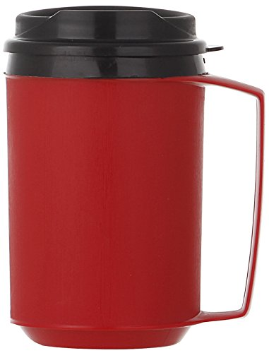 - ThermoServ 512A02201A1 Foam Insulated Mug, 12-Ounce, Red